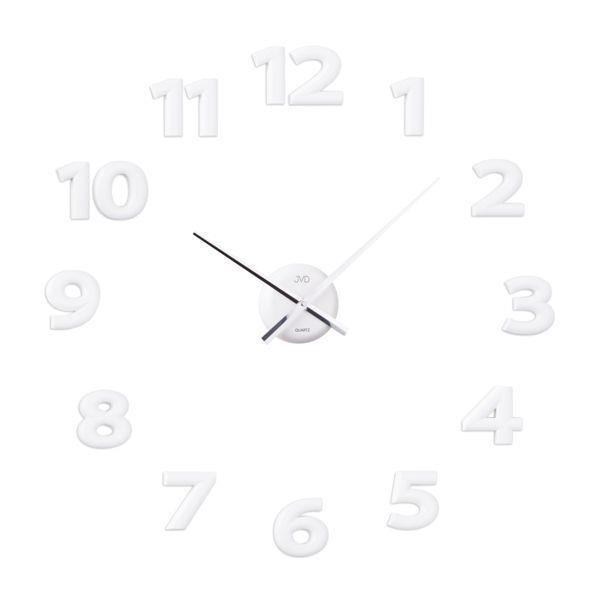 Zegar ścienny Jvd Hb122 Naklejany Biały Quartz