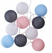 COTTON BALLS KOLOROWE LED FI 6CM