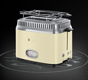 Russell Hobbs toster Retro Vintage Cream 21682-56