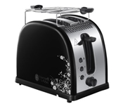 RUSSELL HOBBS TOSTER LEGACY FLORAL BLACK