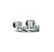 AZZARDO KINKIET RUBIC 2 CHROME